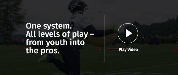 One system. All levels of play - from youth into the pros.